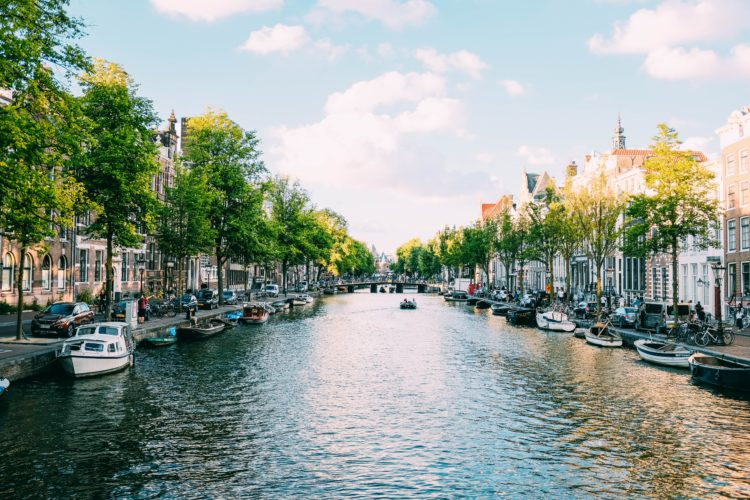 Amsterdam - the most gay cities in the world